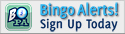 Signup on Bingo Alerts